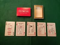 RARE! Vintage MJB, Hills Bros, Chase and Sanborn Coffee Playing Cards