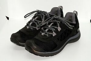 Clarks Wave Walk Gore-Tex Women's Leather Trainers Size 5.5D Black in VGC