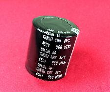 1PCs CAPACITOR 560UF 450V SMH -  NICHICON CAP.