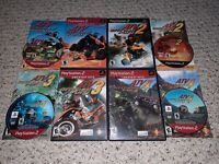 ATV Offroad Fury 1 2 3 4 Lot (PlayStation 2 PS2) COMPLETE TESTED FAST SHIPPING
