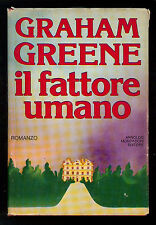 GREENE GRAHAM IL FATTORE UMANO MONDADORI 1978 OMNIBUS I° EDIZ.