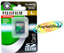 Fujifilm SDHC Memory Card 4GB Class 4