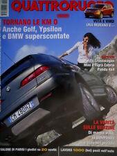 Quattroruote 588 2004 Prove Alfa Crosswagon, Mini e Tigra Cabrio. BMW [Q.61]