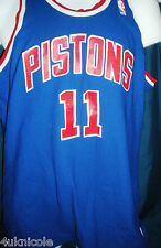 Isiah Thomas Detroit Pistons MacGregor Sand Knit NBA Basketball Jersey snapback
