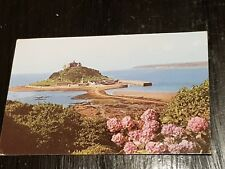 Vintage Postcard-St Michael's Mount, Cornwall -Used