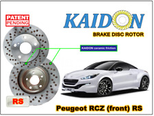 "Peugeot RCZ disc rotor KAIDON (front) type ""RS"" spec"