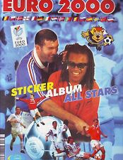 EURO 2000 (NO PANINI) COMPLETE ALBUM  WITH ALL STICKERS - GROSS ITALY