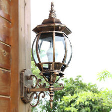 Aluminum Outdoor Wall Lights Garden Path Coach Wall Hanging Lights Flood Lamp