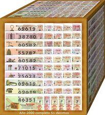 AÑO 2000 COMPLETO LOTERIA NACIONAL DEL JUEVES