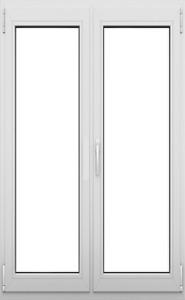 2 flügelige Terrassentür  mit Rolladen vormontiert , elektrisch + Schalter