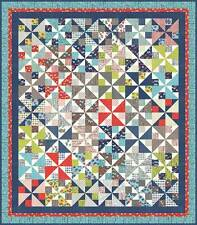 Quilt Pattern ~ PINWHEEL PARK  ~ by Pat Sloan