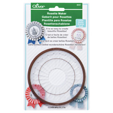 Clover Rosette Maker (Large), Multicoloured, 22 x 14.5 x 1.1 cm