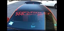 Chevrolet Racing Windshield Banner Sticker Decal racing graphic (Any color)