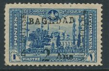 SG 6 Baghdad 1917 British Occupation mosque. 2a on 1pi David Brandon cert...