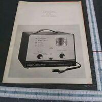 instruction manual CG126 color generator