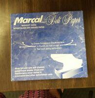 Marcal Midget Waxed Bakery deli Tissue Paper 500 Sheets interfold dry  NIB
