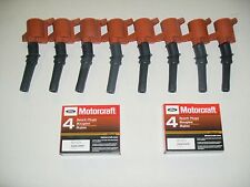 1997-2004 EXPEDITION 5.4L  8 IGNITION COIL RED 508 & 8 MOTORCRAFT PLUGS SP479