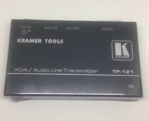 Kramer TP-121 Computer Graphics Video Auto Transmitter Twisted Network