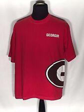 Georgia Bulldogs UGA Big Logo NCAA SEC College Team Starter Large Red T-shirt