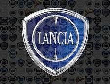 LANCIA photo mosaic cm. 30x41 poster hundreds pics of LANCIA LOGOS
