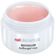 UV-Gel Aufbau Gel rosa 30ml dickviskos elastisch Haftverstärker Builder Nail Art