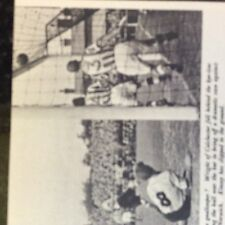 A1d ephemera 1950s football picture wright colchester v norwich kinsey