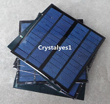 1PC 3W 12V 250mA Mini Solar Panel Module Solar System Epoxy Charger DIY B047 @US