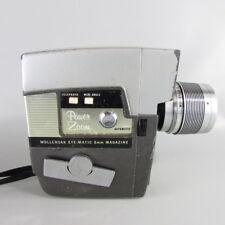 Wollensak vintage movie camera 8mm model 75D Untested .. shutter works