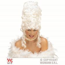 Marie Antoinette Ladies Court White Wig Pantomime Beehive Fancy Dress