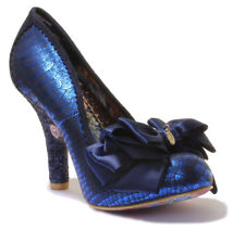 Irregular Choice Peach Melba Womens Microfibre Shoes Pink Mix UK 6 - EU 39