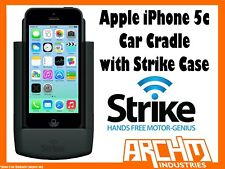 STRIKE ALPHA APPLE IPHONE 5C CAR CRADLE WITH STRIKE CASE - BUILT-IN FAST CHARGER