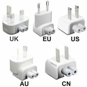 USA, AUS & NZ 2 Pin Travel Adapter For Duck Head Power Charger iPad / iPhone