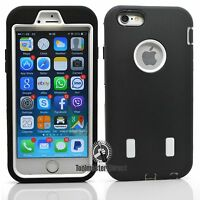 Heavy Duty Defender Shockproof Heavy Duty Case Cover for iPhone 6