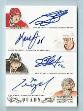 FRANCIS STAAL PRIMEAU WARD 2013/14 NATIONAL TREASURES SIGNATURE AUTOGRAPH /50