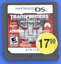 Transformers Autobots Nintendo DS Cartridge Only R3