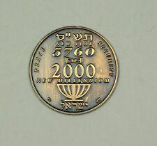 2000 American Israel Numismatic Association AINA New Millennium Token (5ak)