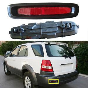 For Kia Sorento 2002-2008 Reflector Warning Plate Rear Bumper Fog Lamp Left 1Pcs
