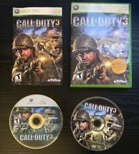 *SHIPS SAME DAY* Call of Duty 3 for Xbox 360 w/ rare Soundtrack CD Video Game