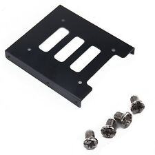 """PC 2.5"""" to 3.5"""" SSD to HDD Adapter Metal Mounting Bracket Hard Drive Holder"""