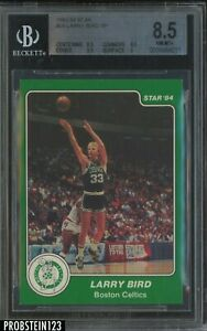 1983-84 Star #26 Larry Bird Boston Celtics HOF BGS 8.5 w/ 9.5