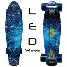 Rimable Complete 22quot Skateboard High Quality 3� Thick Aluminium Trucks.