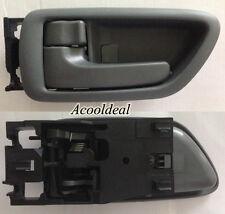 New Inside Door Handle LH GRAY w/Bezel for CREW CAB TUNDRA SEQUOIA AVALON 100%FB