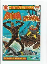 The Brave and the Bold #109 (DC 1973) Batman and the Demon FN