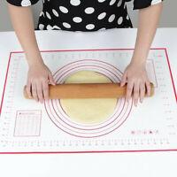 60x40cm Roll-out Mat Baking Mat Silicone Fondant Rolling Mat Dough Mat Dough  DS