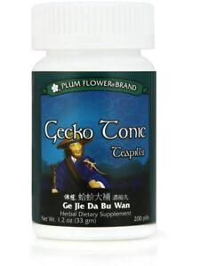 Plum Flower, Gecko Tonic Formula, Ge Jie Da Bu Wan, 200 ct