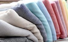 Turkish Hand Loomed 100% Organic Cotton Kitchen Towels