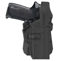 Police Duty Holster for Sig Sauer SP2022 Paddle Holster Thumb Release Level III