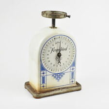 Krups Ideal - alte Küchenwaage - Keramik - Jugendstil - D.R.G.M. - antik