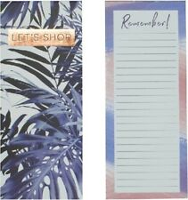 Indigo Dream Let's Shop Remember Shopping List Magnetic Tear Off Pages Memo Pad