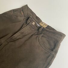 Wrangler Texas Stretch Men's Regular Straight Leg Brown Chino - W34 x L32